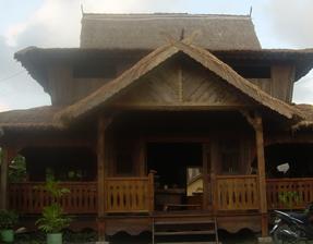 Bali Wooden House Island Paradise